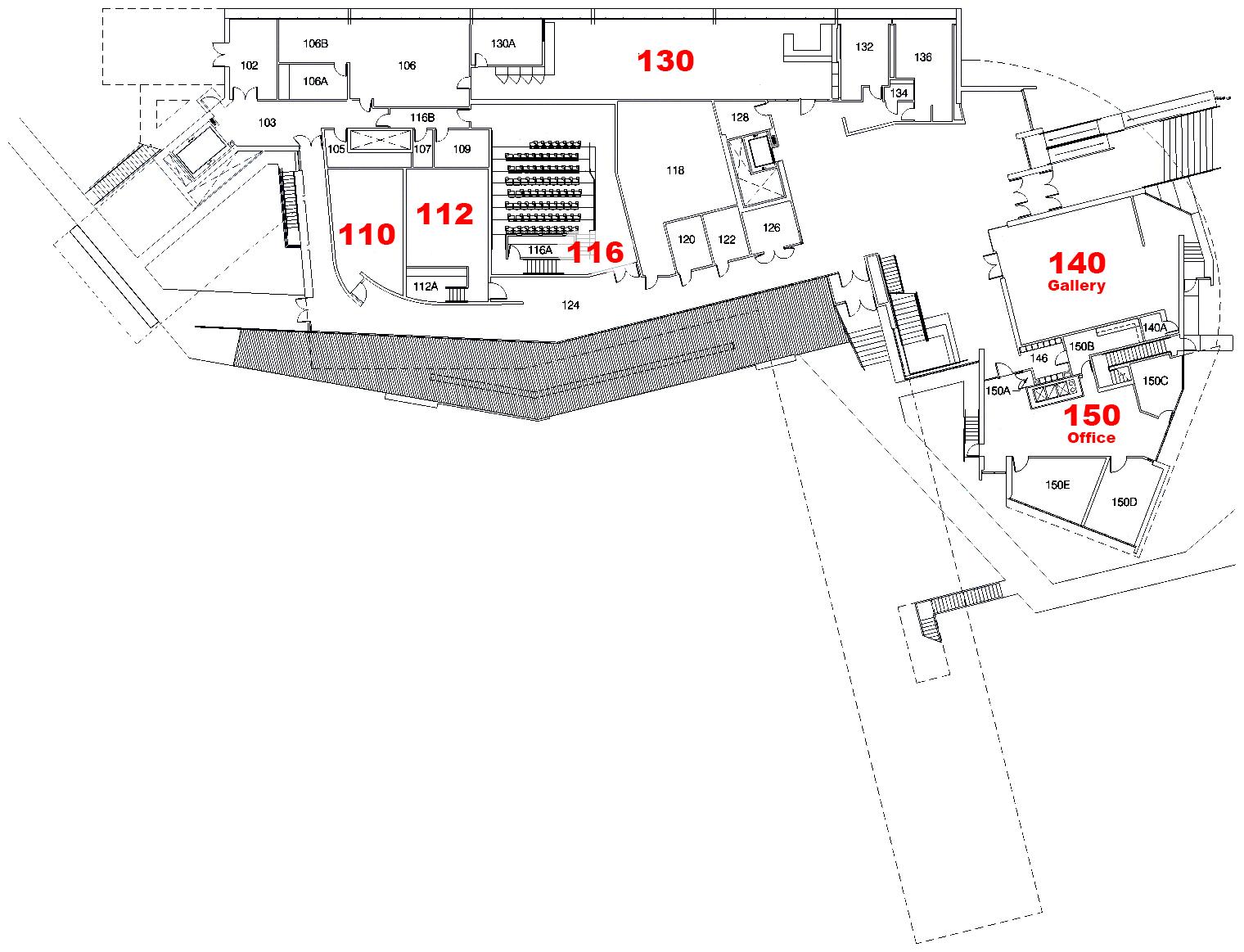 Art building west floor plans school of art and art for Floor plan builder