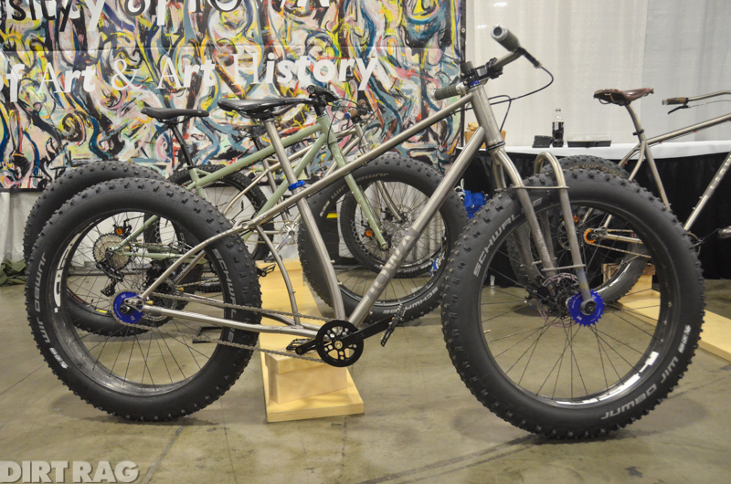 DIRTRAG Magazine image of bike from bike build class at the University of Iowa