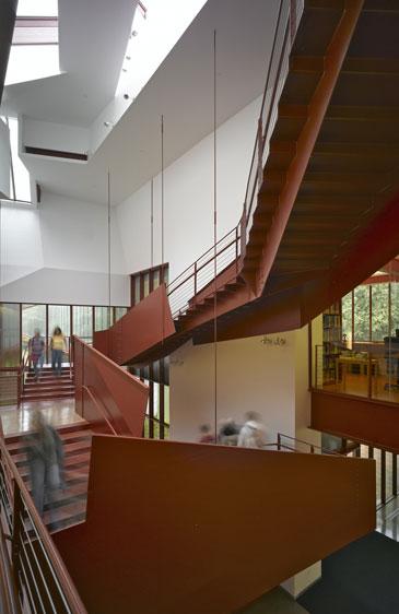 Image Inside Art Building West