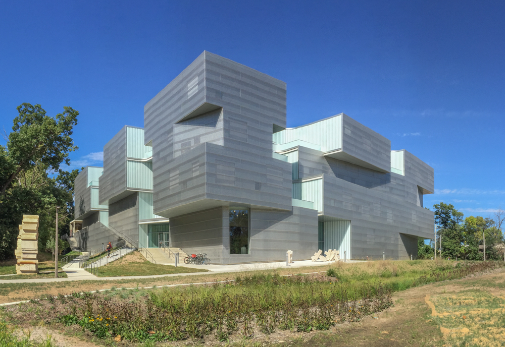 Visual Arts Building Exterior General View ...