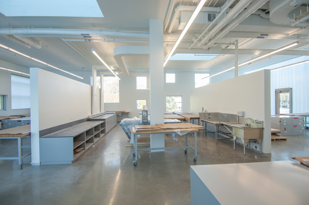 ... Printmaking studio filled with natural light ... & Visual Arts Building | School of Art and Art History | College of ...