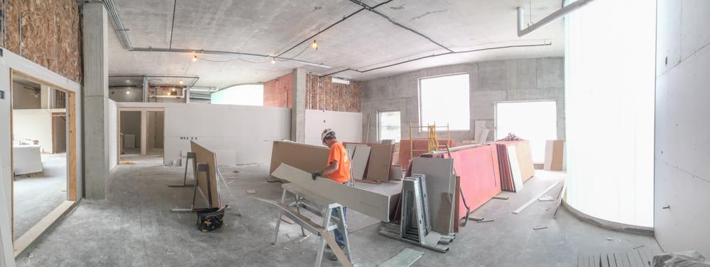 Good ... Interior Construction ...
