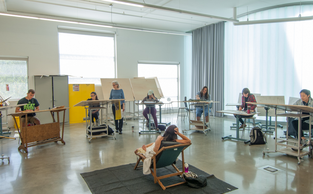Visual Arts Building School Of Art And Art History College Of