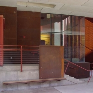 South entrance.
