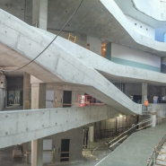 Atrium under construcion