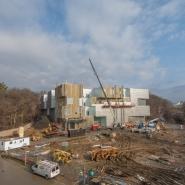 Visual Arts Building construction site