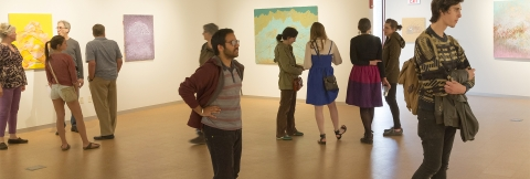 Levitt Gallery show reception