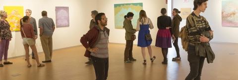 Levitt Gallery show reception