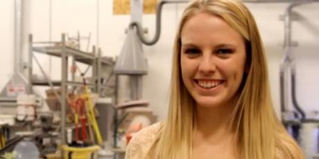 3D Design student Hailey Kurtz