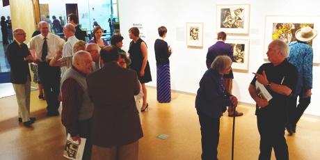 Lasansky Exhibiiton gallery photo