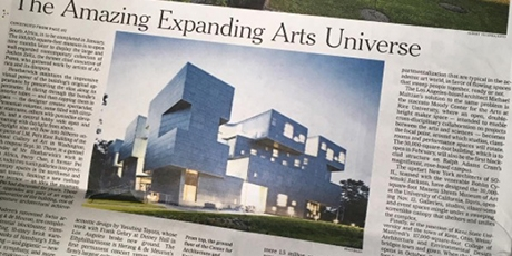 Visual Arts Building pictured in the New York Times