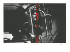 """""""Pass Over,"""" pronto plate lithograph by Stephen Evans."""