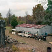 Dale's Shed, Hardy, AR. Photograph from his book: The Exuberance Phase: Selected 8x10 Works