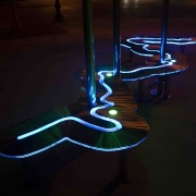 Luminous Trails, detail 1
