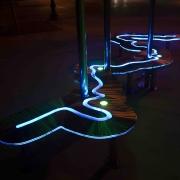 Luminous Trails, detail 1
