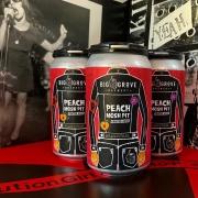 12oz Beverage Label Design