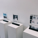pedestals with graphic design work images